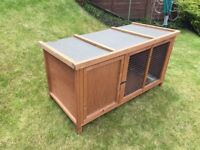 Wooden Rabbit or Guinea Pig Enclosure, in Excellent Condition
