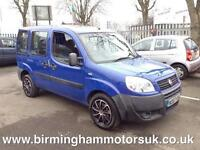 2007 (57 Reg) Fiat Doblo 1.3 16V MULTIJET ACTIVE 5DR Estate BLUE