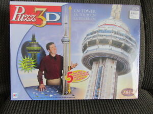 Two 3-D Puzzles -unopened, new condition $8.00 each