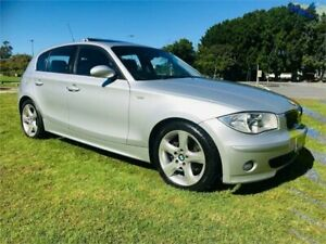 2007 BMW 120i E87 MY07 Upgrade Silver 6 Speed Automatic Hatchback Southport Gold Coast City Preview