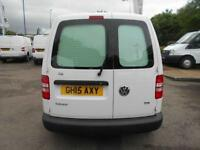 Volkswagen Caddy 1.6 Tdi 75Ps Startline Van DIESEL MANUAL WHITE (2015)