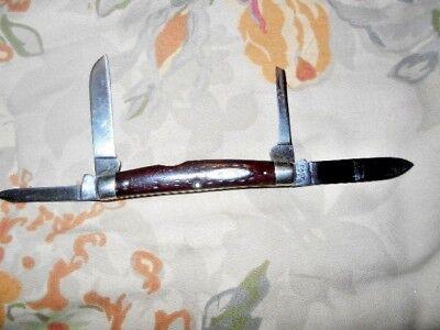 RARE VINTAGE CASE XX REDBONE CONGRESS KNIFE 6488 1940-48 BOOK $1750.00