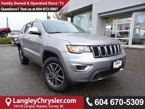 2017 Jeep Grand Cherokee Limited <b>*ACCIDENT FREE*LEATHER*5....