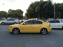 2004 Mazda 3 BK10 SP23 Yellow 4 Speed Automatic Sedan Granville Parramatta Area Preview