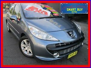 2008 Peugeot 207 XT Grey 4 Speed Automatic Hatchback Greenacre Bankstown Area Preview