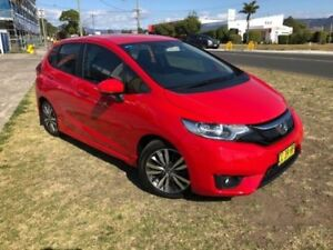 2014 Honda Jazz GK MY15 VTi-S Red Continuous Variable Hatchback
