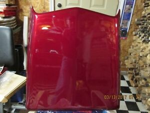 NEW FORD MUSTANG HOOD SCOOP FACTORY PAINTED-RUBY RED METALLIC