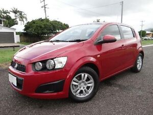 2013 Holden Barina TM MY13 CD Red 5 Speed Manual Hatchback Vincent Townsville City Preview