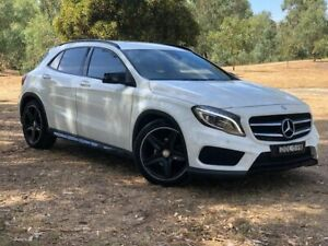 2015 Mercedes-Benz GLA200 X156 806MY d DCT White 7 Speed Sports Automatic Dual Clutch Wagon