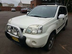 2005 Nissan X-Trail T30 ST (4x4) White 5 Speed Manual Wagon Georgetown Newcastle Area Preview