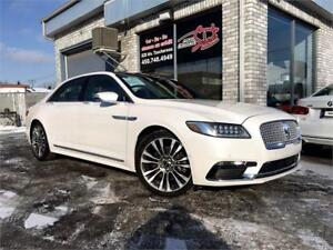 2017 Lincoln Continental Reserve 3.0T V6 AWD NAVI TOIT PANO
