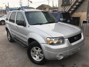 FORD ESCAPE LIMITED V6 2007 AUTO/AWD/AC/CUIR/PNEUS D'HIVER/WOW !