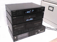 Technics Stereo Amplifier, Tuner, CD & FREE Cassette Player
