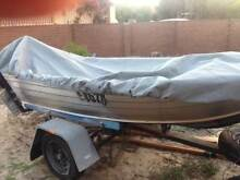 11 ft 10 hp Tinnie. 2013 outboard. Como South Perth Area Preview