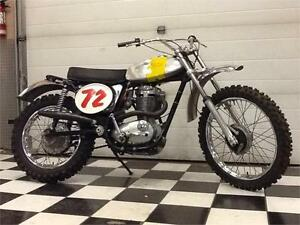 BSA B50MX Vintage MX Competition Bike