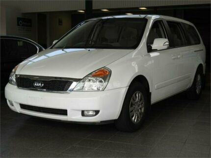 2013 Kia Grand Carnival VQ MY13 SI White 6 Speed Sports Automatic Wagon Moorooka Brisbane South West Preview