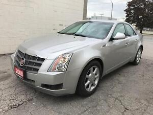 2008 Cadillac CTS 3.6L V6 w/1SA PANORAMIC ROOF,NO ACCIDENT