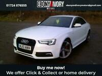 2013 13 AUDI A5 2.0 TDI BLACK EDITION 2D 177 BHP+ACOUSTIC PARKING SYSTEM REAR+FI