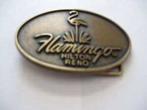 FLAMINGO HILTON RENO BELT BUCKLES- $5