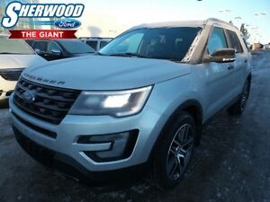 2017 Ford Explorer Sport w/ Heated/Cooled Front Seats,Navigation