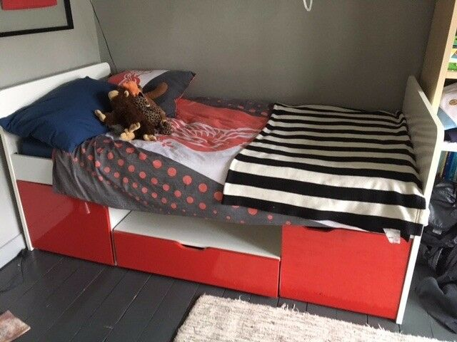 Aspace Southside Child's Cabin Bed, Red - Second Hand