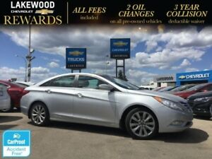 2013 Hyundai Sonata Limited(Nav, Heated Seats)