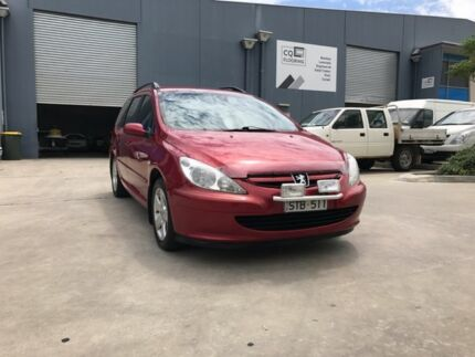 2004 Peugeot 307 XSE Touring Maroon 4 Speed Tiptronic Wagon Newport Hobsons Bay Area Preview