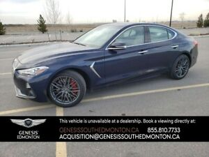 2019 Genesis G70 3.3T Dynamic AWD (2 sets wheels/tires)