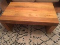 Solid Coffee Table £60