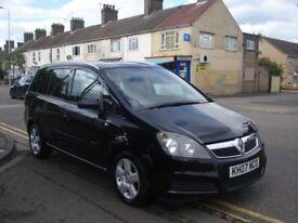 Vauxhall ZAFIRA 1.9 CDTi Energy 5dr, 2007 model, Long MOT, Cambelt & W/Pump done @ 96K, 7 Seater