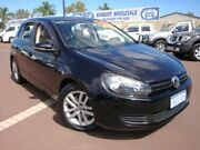 2010 Volkswagen Golf VI MY11 118TSI DSG Comfortline Black 7 Speed Sports Automatic Dual Clutch Carey Park Bunbury Area Preview