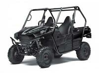 2015 KAWASAKI TERYX AND MULE BLOW OUT