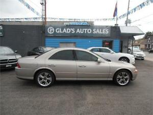 2002 LINCOLN LS V6 AFFORDABLE LUXURY!!!