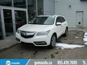 2016 Acura MDX LEATHER SUNROOF NAV BACKUP CAM VERY NICE
