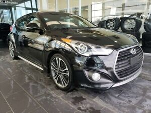 2016 Hyundai Veloster TURBO, HEATED SEATS, SUNROOF, NAVI, REAR V