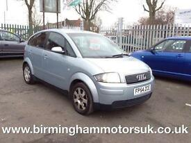 2004 (54 Reg) Audi A2 1.4 5DR Hatchback BLUE + LOW MILES