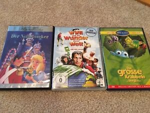 3 German DVD's for kids