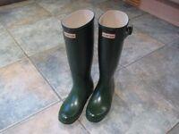 Ladies Hunter wellies Size 5