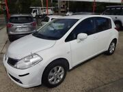 2006 Nissan Tiida C11 ST White 4 Speed Automatic Hatchback Sylvania Sutherland Area Preview