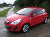 VAUXHALL CORSA 1.2 EXCITE 3d 83 BHP (red) 2011