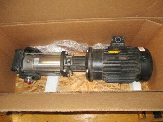 Grundfos CRN5-8 Pump End w/ Baldor 84Z04053 Super-E Motor, ANSI / NSF61, 100075
