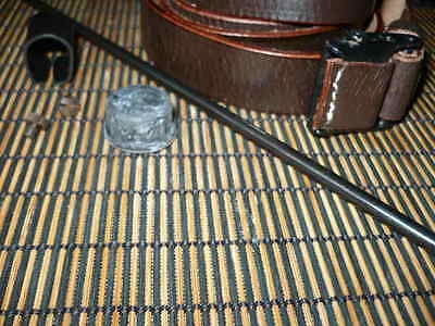 """k98 mauser parts,sling 12.5""""cleaning rod, sight hood,capture screws, ax 1940 cde for sale  Ashland"""