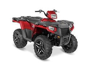 POLARIS SPORTSMAN 570 SP SUNSET RED 2016
