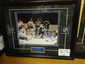 DAVE KEON CUSTOM FRAMED AUTOGRAPHED 8X10 AT SLAPSHOT!