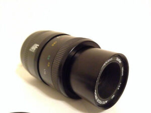 Minolta/Sony A-mount lens: Vivitar 100mm f3.5 macro
