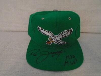 Ron Jaworski Signed Philadelphia Eagles New Era Pro Model Fitted Hat JSA U12821