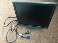 """17"""" Flat Screen Computer Monotor AG Neovo F-417 - LCD Display - with installation CD, used"""