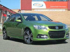 2015 Holden Commodore VF MY15 SV6 Storm Green 6 Speed Sports Automatic Sedan Kings Park Blacktown Area Preview