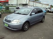 2002 Toyota Corolla ZZE122R Ascent Seca Silver Grey 4 Speed Automatic Hatchback Punchbowl Canterbury Area Preview