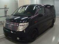 2004 Nissan Elgrand 4WD 8 SEATER Estate Petrol Automatic